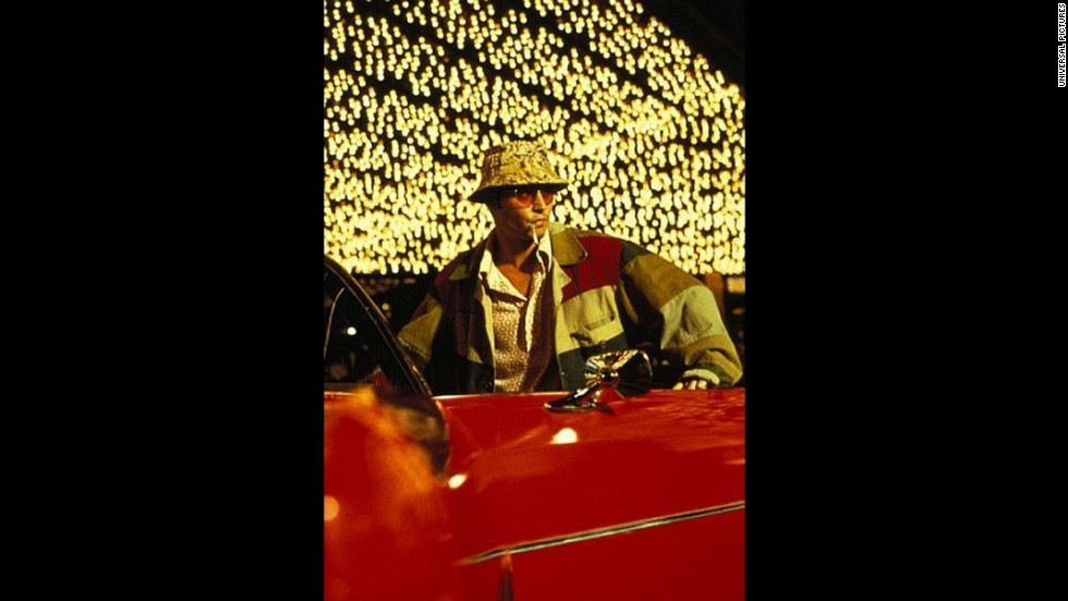 "Depp starred as Raoul Duke In the 1998  film adaptation of Hunter S. Thompson's hallucinogenic ""Fear and Loathing in Las Vegas."" Depp has said he and Thompson bonded over ""<a href=""http://www.thedailybeast.com/newsweek/2011/10/23/johnny-depp-on-hunter-s-thompson.html"" target=""_blank"">both being from Kentucky, both having checkered pasts in our youth, and a great love of literature.</a>"""
