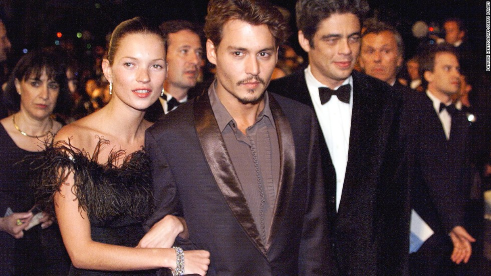 While Moss is known to shy away from most interviews, her private life has remained the subject of heated speculation and intrigue. Her four-year relationship with film star Johnny Depp, which ended in 1998, was irresistible camera fodder.