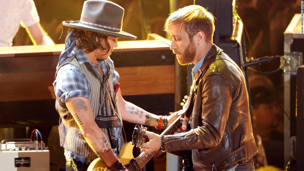Even with all his acting success, Depp's first love is music. He played in a band called The Kids when he was growing up in Florida. In 2012, he joined The Black Keys' Dan Auerbach onstage at the MTV Movie Awards.