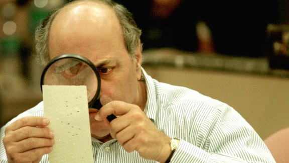 Scene from the 2000 Florida election recount.