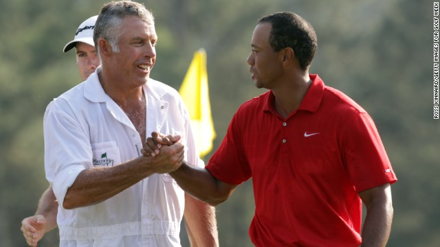 Steve Williams, left, will be reacquainted with Tiger Woods at the U.S. Open after Woods and Adam Scott were paired together.