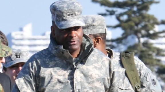 Maj. General Michael T. Harrison was the commander of U.S. forces in Japan.