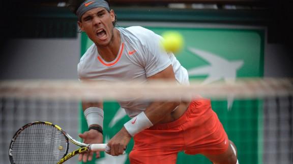 Nadal serves to Ferrer.