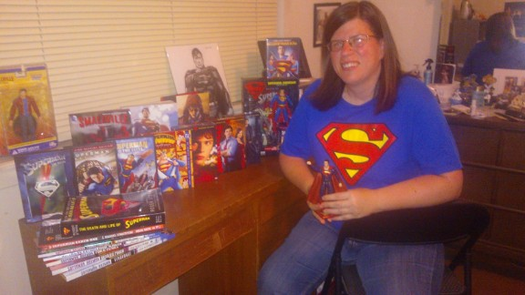 "When she was younger, Melissa Daigle remembers hating to read. So, her father, a comic book fan, introduced her to Superman comic books to improve her reading comprehension. Today, Superman inspires her on many levels. ""Whether to be honest in my own mistakes, (have) compassion for others or to believe in the good of others. It isn"