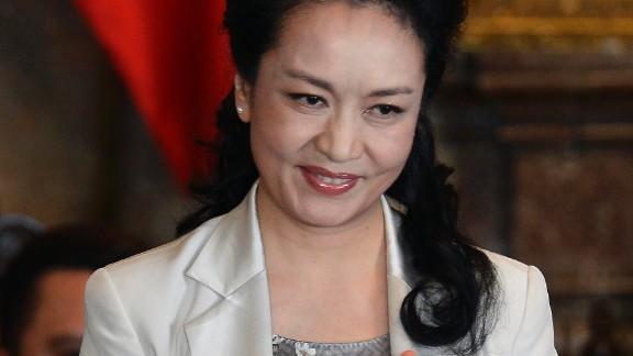 Chinese First Lady Peng Liyuan is an UN goodwill ambassador for AIDS