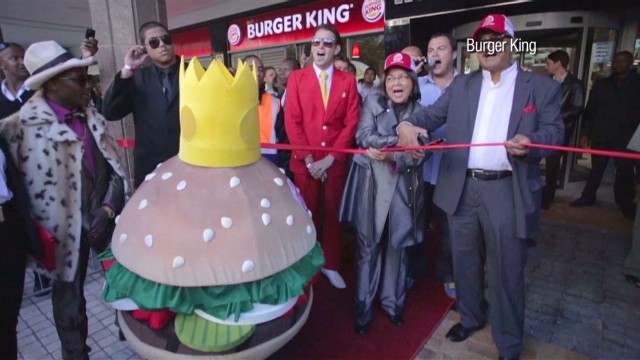 Burger King arrives in South Africa