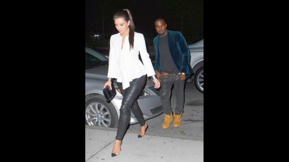 April 2012: With speculation raging, since he couldn't seem to keep his pants up while hanging out with Kim Kardashian, Kanye dropped a single in which he admitted he was in love with her. Time soon revealed that the two were indeed an item.
