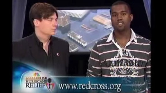 "September 2005: If you didn't know by September 2005 that Kanye is not the type to stick to the script, he proved it during a relief telethon for Hurricane Katrina victims. Speaking alongside Mike Myers, 'Ye memorably started ad-libbing, leading to a phrase that still hasn't lived down its infamy: ""George Bush doesn't care about black people."""