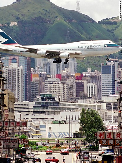 Site of Hong Kong's former airport set for huge transformation