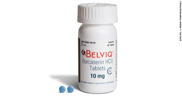 Weight Loss Drug Belviq Tied To 'possible Increased Risk Of Cancer, ' FDA Says