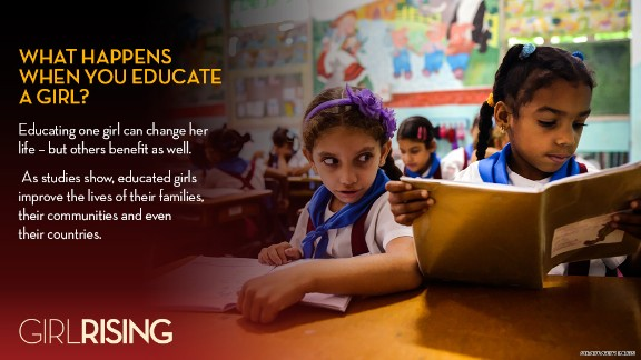 """CNN Films' """"Girl Rising"""" documents extraordinary girls and the power of education to change the world."""