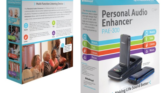 """The PAE-300 has four sound modes, according to its website: Watch, talk, listen and relax. They can be useful during """"hard to hear"""" listening situations while watching television or listening to music."""