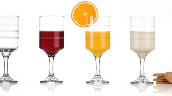 Wine Trax offers an easy way to track your alcohol intake and keep an eye on calories. Its manufacturer, Elegant Portions, also offers dinner plates to measure portions and a measuring cereal/snack bowl.