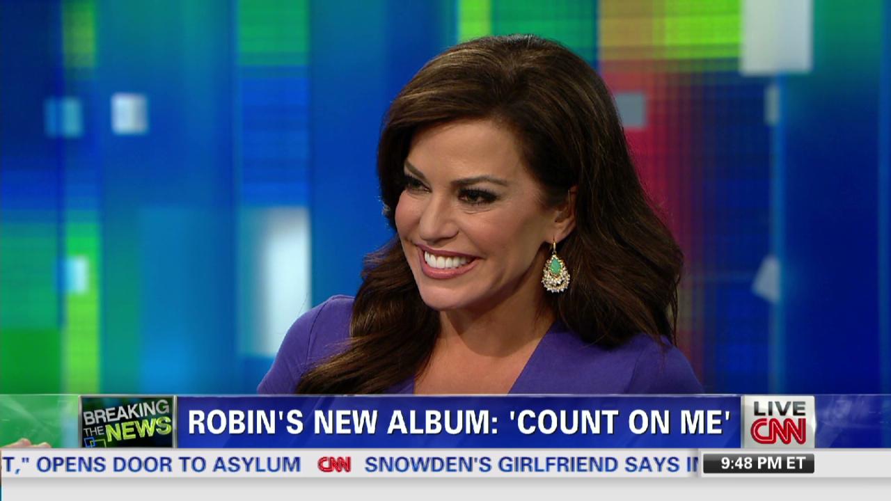 Robin Meade Sings For Piers Morgan Cnn Video