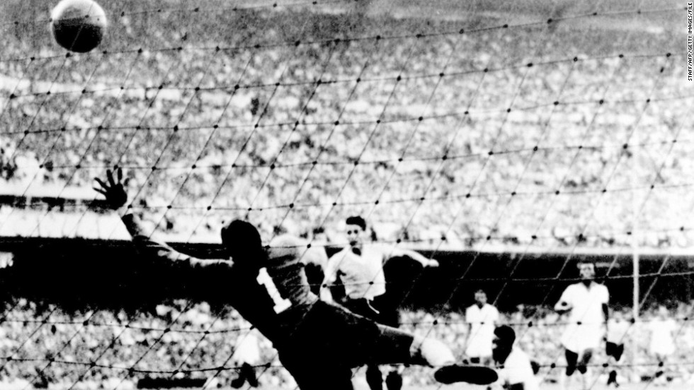 "Moacyr Barbosa Nascimento's life was forever changed after the 1950 World Cup. With Brazil needing just a draw against Uruguay in its final game to lift the trophy for the first time, the team lost 2-1 and he was blamed for the second goal. The goalkeeper's perceived mistake haunted him. Twenty years later he overheard a woman in a supermarket say to her son, ""There is the man who made Brazil cry."""