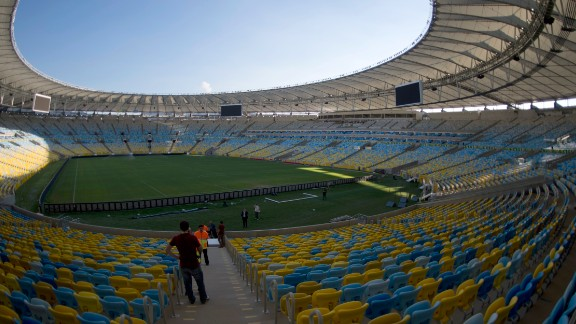 The Maracana Stadium in Rio de Janeiro was the venue for the 1950 final, with 200,000 spectators packed into the purpose-built arena. The stadium has been redeveloped and a crowd of 78,000 people will watch the final of 2014 World Cup at the iconic ground.