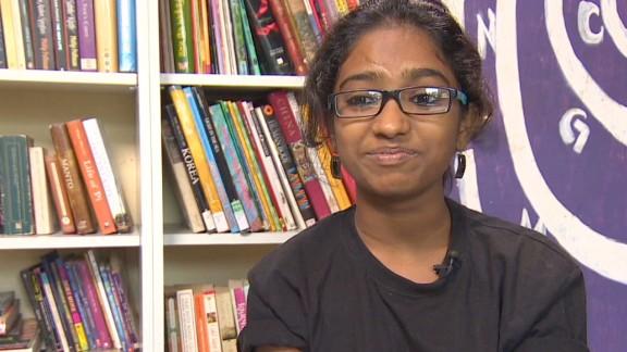 Shweta Katti wants to study psychology so she can help other women back home, she said.