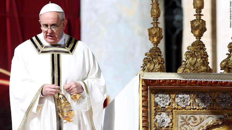 Addressing a crowd at St. Peter's Square in May, the 76-year-old pope admitted that sometimes he falls asleep while praying. That's OK, God forgives him, Francis said.