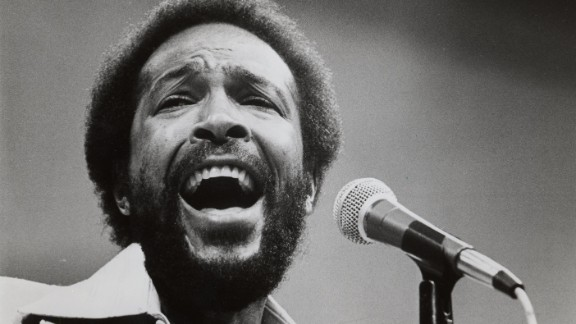Marvin Gaye, pictured in 1984, sang a memorable but untraditional version during the 1983 NBA All-Star Game.