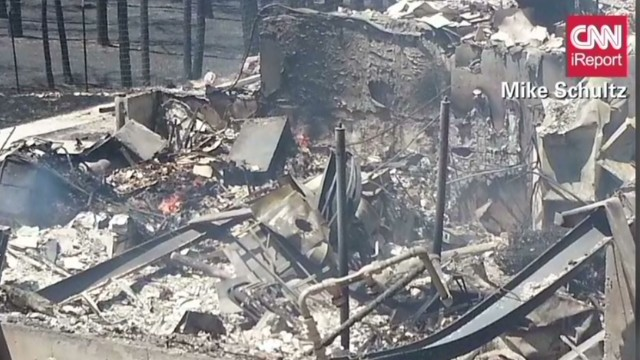 Family lost nearly everything in wildfire