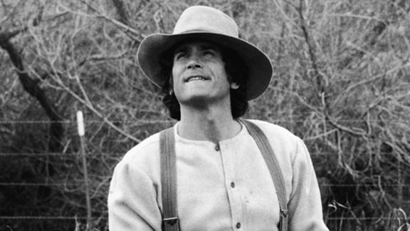 "Michael Landon as Charles ""Pa"" Ingalls on the 1970s-"