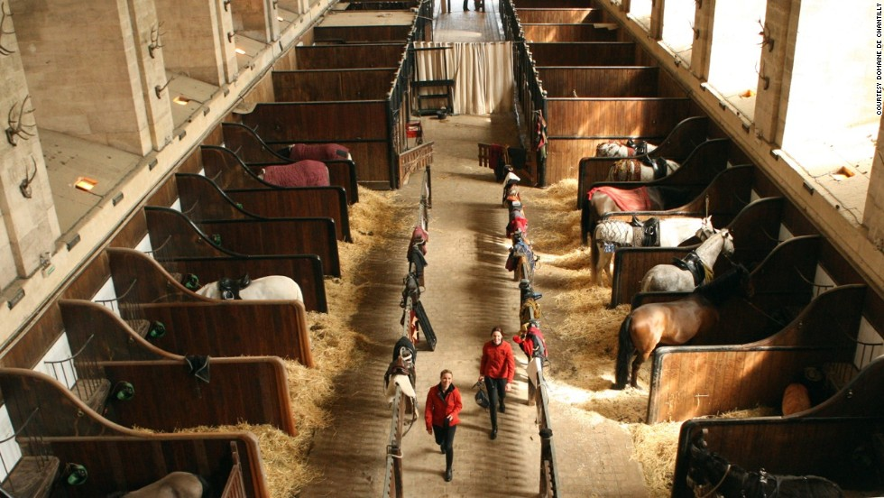 In 1982 Master Rider Yves Bienaime Helped Create A Horse Museum Adjoining The Grand Stables