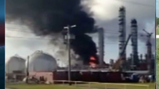 Fire under control at chemical plant