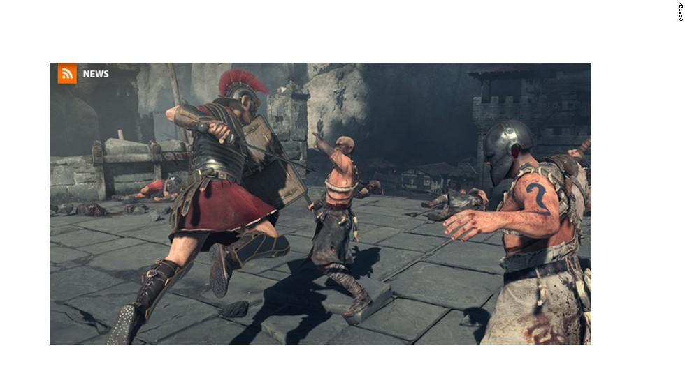 """Ryse: Son of Rome"" is a brutal third-person combat game from Cryotek, the makers of the ""Crysis"" series. Players are tasked with combing one-on-one combat with a bit of strategy, commanding troops on battlefield tactics."