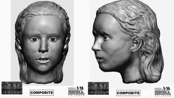 This girl, between ages 5 and 11, was related to the young woman found with her.