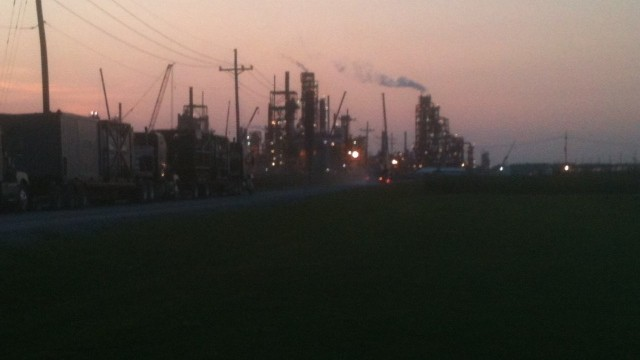 At least one person was killed in the explosion at the CF Industries plant in Donaldsonville, Louisiana.