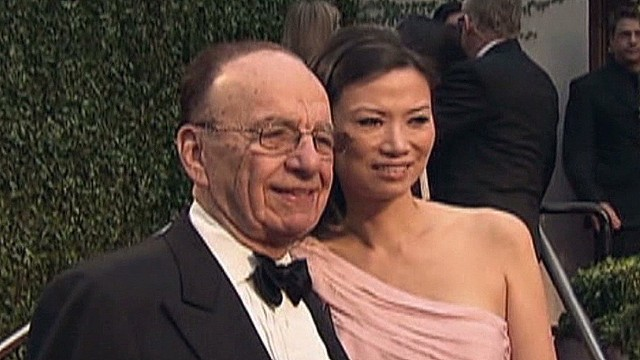 Murdoch splitting with younger wife