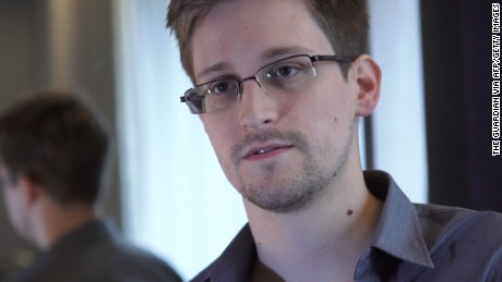 Snowden has been living in exile in Russia since 2013.