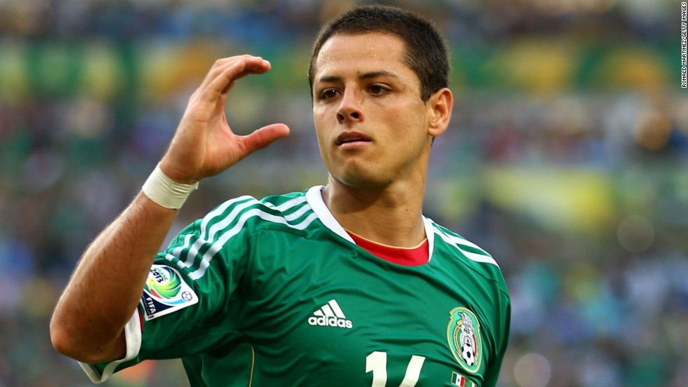 Mexico striker Javier Hernandez had leveled the score in the 37th minute from the penalty spot.
