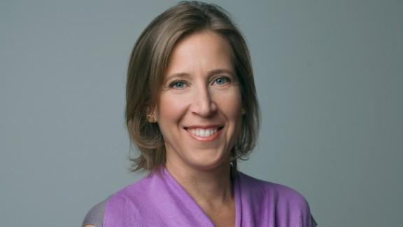Susan Wojcicki is the chief executive of YouTube.