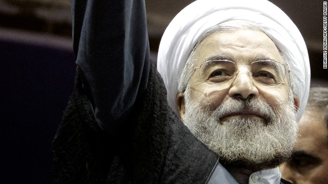 Hassan Rouhani, a moderate Iranian presidential candidate and former top nuclear negotiator, was elected president earlier this year.
