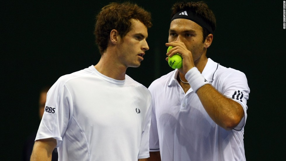 The pair played Davis Cup tennis for Great Britain in the doubles after progressing through the junior circuit together.