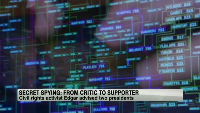 Secret spying: From critic to supporter