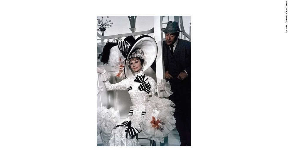 "In this famous scene at Britain's most prestigious horse race -- Royal Ascot -- Hepburn shocks high society by yelling: ""C'mon Dover! Move yer bloomin' arse!"""