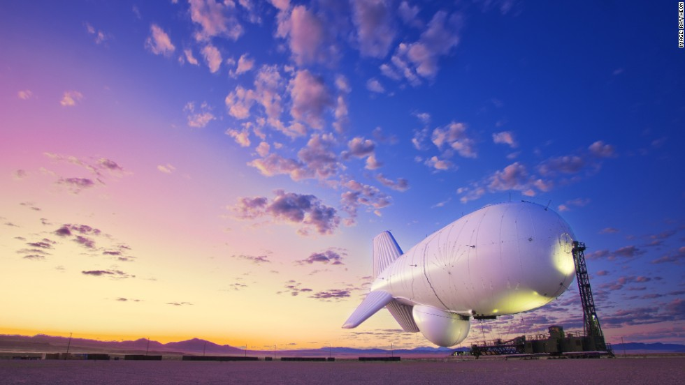 Other new-look airships in development include Raytheon's JLENS aerostat, designed to carry out surveillance missions, hovering high in the air 24 hours a day, seven days a week for 30 days at a time.