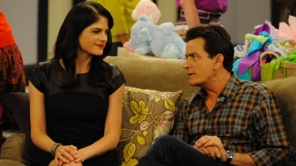 Selma Blair co-starred with Charlie Sheen on FX