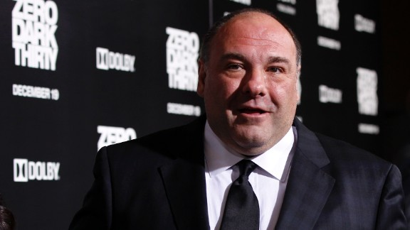 James Gandolfini, who gained fame playing a memorable mafia boss on HBO