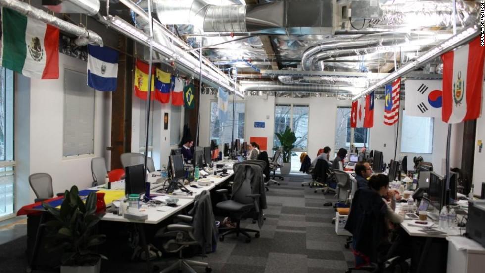 A Look Inside Tech Companies Striking Offices Cnn