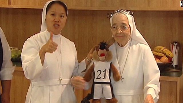 Nuns pray for big Spurs win