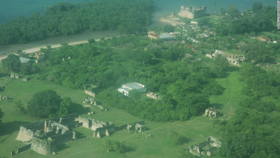 Kilwa was situated on an island off the coast of modern-day southern Tanzania. The city was founded in the late 10th century but was nearly destroyed by the Portuguese in 1505. Thereafter, it started declining before eventually being abandoned.
