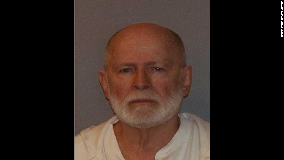 "James ""Whitey"" Bulger, the reputed former head of Boston's Winter Hill Gang, was convicted on August 12, 2013 of racketeering and 11 counts of murder."