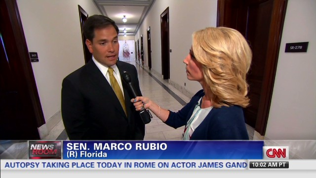 Rubio backs border security plan