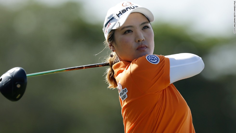 So Yeon Ryu is seeking to win her second major title at this week's U.S. Women's Open in Southampton, New York.