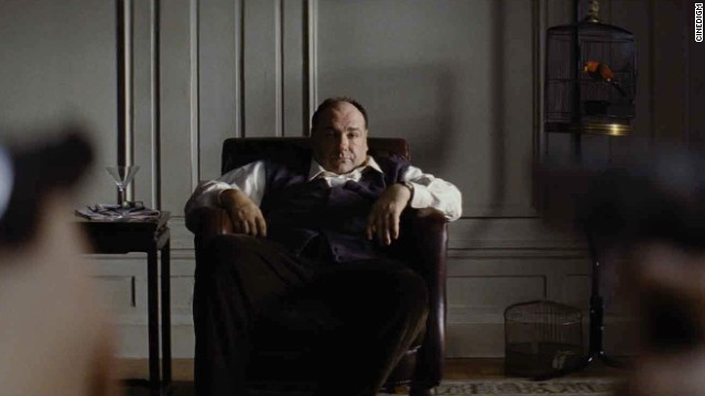 "James Gandolfini faces down two teenage killers in ""Violet & Daisy."""