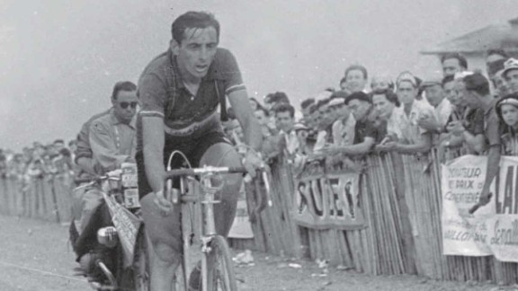 Legendary Italian cyclist Fausto Coppi claimed the Tour de France twice and won the stage to Alpe d