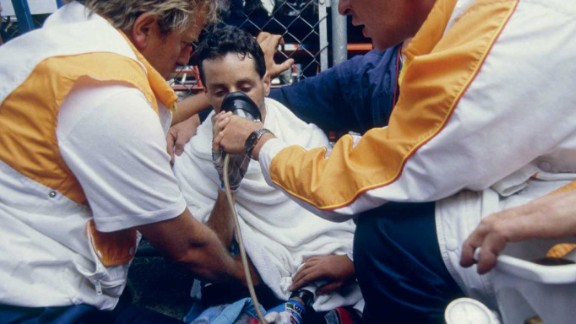 Stephen Roche needed oxygen after a famous effort on the 21st stage to La Plagne in 1987 -- the year he won the Tour, Giro d